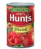 Hunt's Diced Tomatoes, 14.5 Oz., Pack of 24
