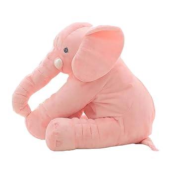 Seasons Shop Bebé Elefante Almohada, bebé Juguetes de Peluche de Regalo para niños bebé mimoso Juguete Animal Dormir cojín niños Confort Dormir ...