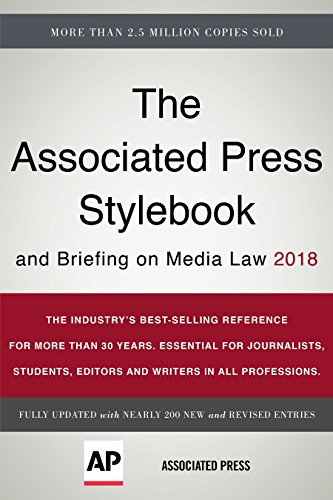 The Associated Press Stylebook 2018: and Briefing on Media Law (Associated Press Stylebook and Briefing on Media Law) from Basic Books