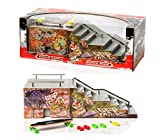 Grip&Tricks - RAMPS FINGER SKATE - FUNBOX AND STAIRS - Fingerboard - Penny Board : Dimensions: 28 X 12 X 10 cm