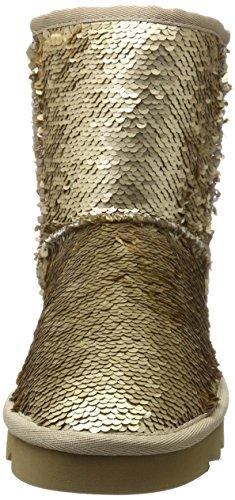 Stivali California Yw02 f17 Gold Gol Colours Oro da Donna Neve of I6wqtC5x1