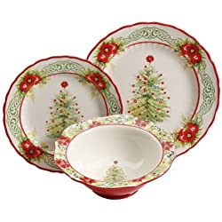 The Pioneer Woman Garland 12-Piece Dinnerware Set