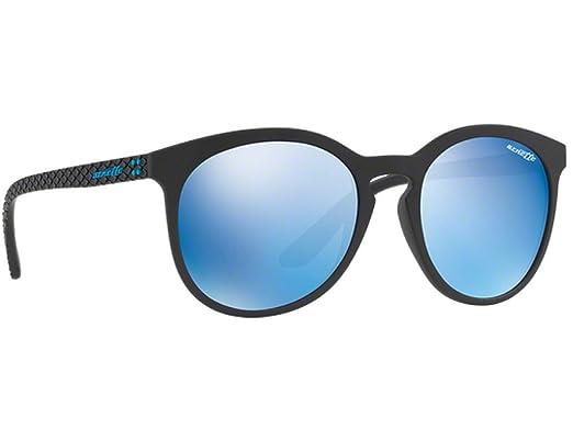 Arnette Herren Sonnenbrille 0AN4241 25076G, Grau (Matte Transparent Grey/Greymirrorsilver), 55