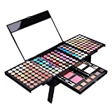 olinase Pigmented Matte and Shimmer 177 Colors Eyeshadow Palette Eyebrow powder Blush Shading