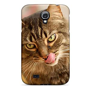 High-end Case Cover Protector For Galaxy S4(cat Tricky Eye)