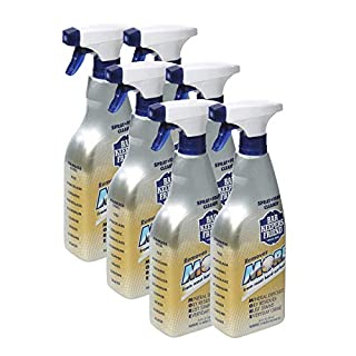 Bar Keepers Friend MORE Spray + Foam (25.4 oz) | Multipurpose Spray Cleanser and Rust Stain Remover | For Use on Countertops, Sinks, Bathtubs, Showers, Fixtures, Tile, and More (6)