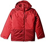 Columbia Boys' Big Lightning Lift Jacket, Mountain Red, Beet, Large