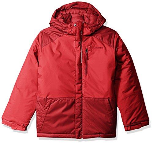 - Columbia Boys' Big Lightning Lift Jacket, Mountain Red, Beet, X-Large