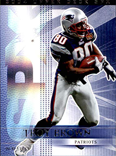 2004 SPx #57 Troy Brown NEW ENGLAND PATRIOTS ()