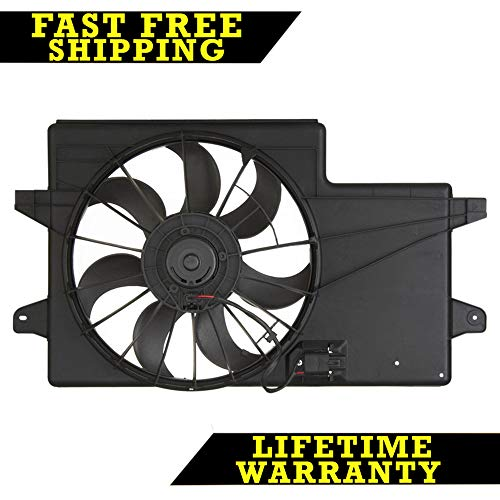 RADIATOR CONDENSER COOLING FAN FOR FORD FITS FOCUS 2.0 L4 4CYL FO3115171 - Ford Focus Radiator Fan
