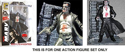 Sin City Bloody Marv Action Figure Set - Diamond Select Toys 2014 SDCC Comic-Con Exclusive Series 1 Action FIgure - LTD. Edition & Numbered - UNCIRCULATED Factory Sealed - Approx. 7 inches tall