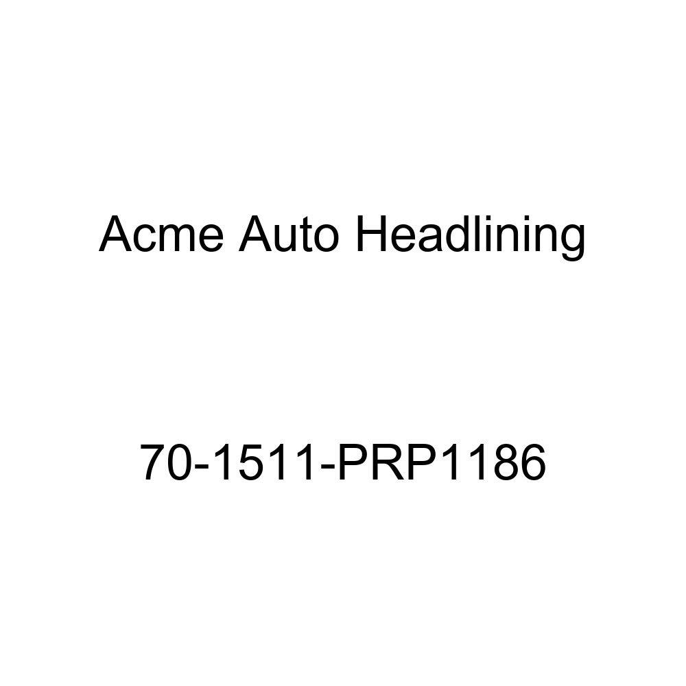 1970 Pontiac Bonneville, Catalina and Executive 2 Door Hardtop Acme Auto Headlining 70-1511-PRP1186 Buckskin Replacement Headliner 5 Bow