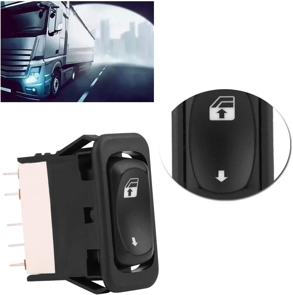 A06-30769-008 Car Power Master Window Control Switch Button Fit for Freightliner Columbia 01-11