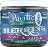 PACIFIC SUSTAINABLE SEAFOOD: Herring in Wine Sauce, 12 oz
