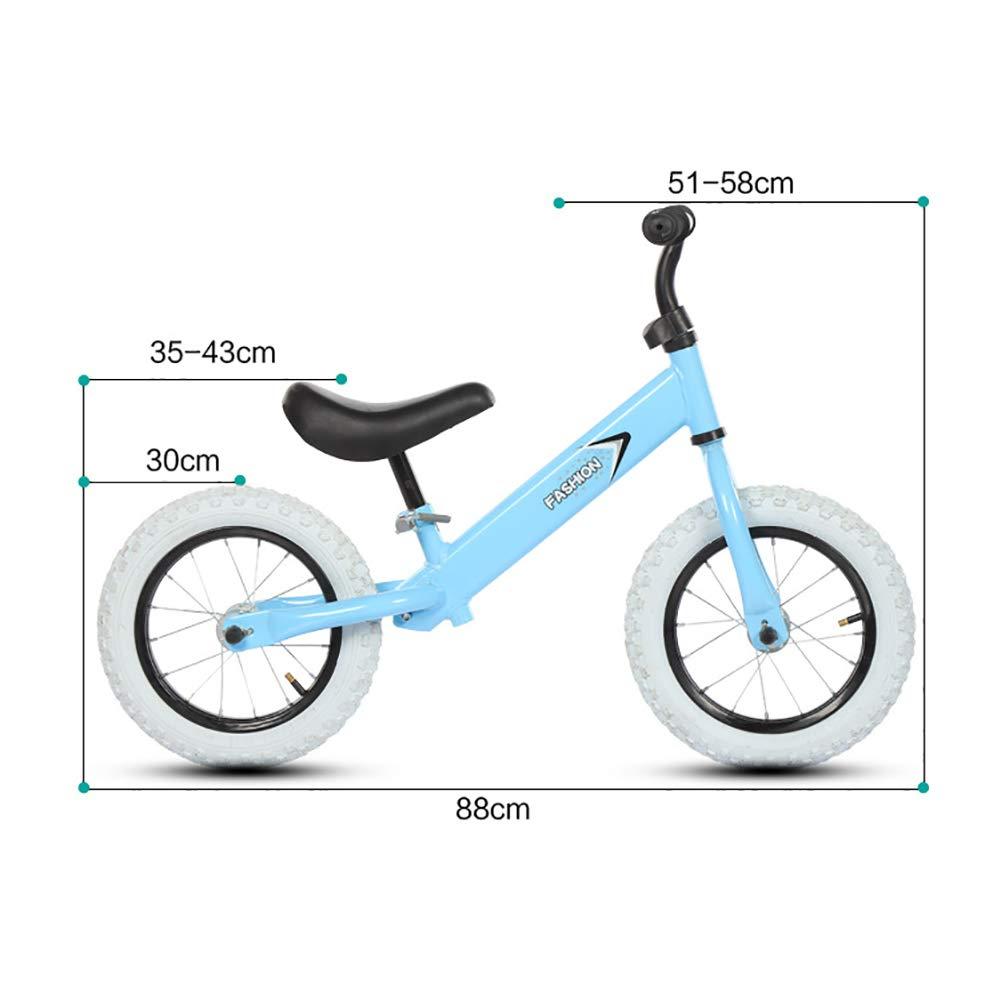 FJ-MC Bicicleta de Equilibrio, Altura del Asiento Ajustable ...
