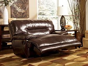 Ashley Furniture Signature Design - Exhilaration Oversized Manual Recliner Sofa - Reclining Love Seat - Chocolate Brown & Amazon.com: Ashley Furniture Signature Design - Exhilaration ... islam-shia.org