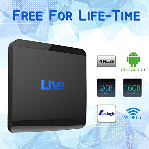 Live IPTV Receiver Box, 4K International IPTV with 1600+ Global Channels  Including Amecica Arabic Brazilian India Adult Programs , No Subscription  Fee