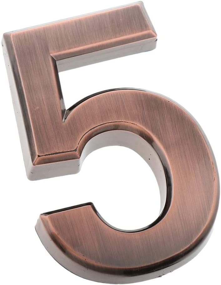 Nummer 0 Homyl Selbstklebende 0-9 Zahlen Nummer Hausnummer Haust/ürnummer Ziffern