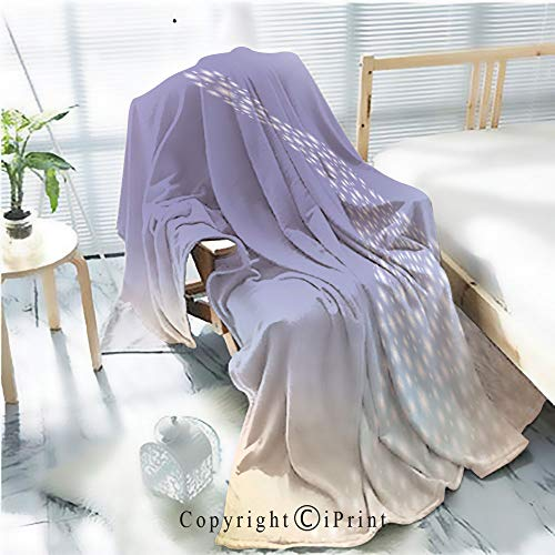 (AngelSept Flannel Printed Blanket for Warm Bedroom,Dreamy Princess Sparkling Silhouette Cracked Burning Earth Decorative,One Side Printing,W47.2 x H78.7)