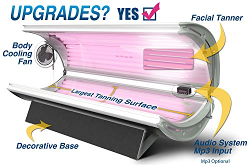 Tanning Beds, Sunfire 24 Deluxe Lamp Commercial Tanning Bed