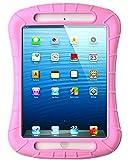 ipad mini cases cheap - iPad Mini Case, iXCC Shockproof Silicone Protective Case Cover for iPad Mini, Mini 2, Mini 3and iPad Mini Retina Models - Pink