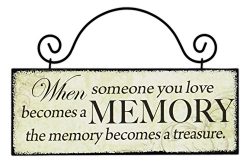 8x3 wood hanging sign (WHEN SOMEONE YOU (Love Hanging)