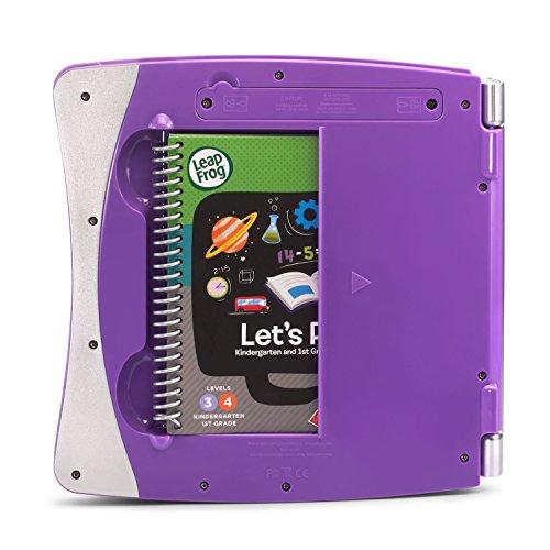 LeapFrog LeapStart Interactive Learning System for Kindergarten & 1st Grade, Exclusive Purple + Level 3 LeapStart Activity Book Bundle, Kids Educational Books, Learn Basic Concepts, Kids Gift Set by LeapFrog (Image #2)