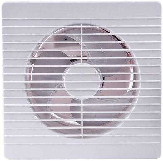 Ventilador de escape de 8 Pulgadas Cocina Potente Ventilador Cuadrado Potencia de ventilación: 23w Tamaño de Apertura: 182-190 mm Tamaño del Panel: 250 * 2: Amazon.es: Hogar