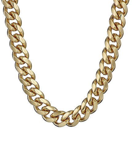 [Century Star Gold 24 Lobster Clasp Chain Mens Modern Stainless Steel Necklace] (Homemade Indian Halloween Costumes Women)