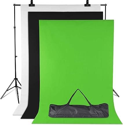 Amzdeal Hintergrund Ständer Support System 3m 2m Kamera