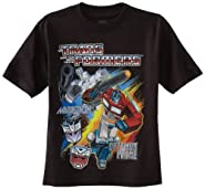 Transformers Boys' Short Sleeve T-Shirt