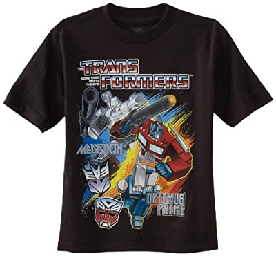 Transformers Boys' Short Sleeve T-Shirt by Freeze Children's Apparel