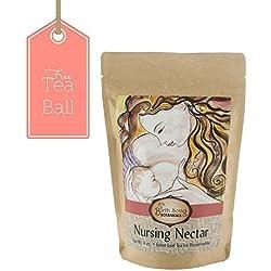 Birth Song Botanicals Nursing Nectar Best Breastfeeding Tea with Fenugreek & Chamomile, 40 Servings per Bag