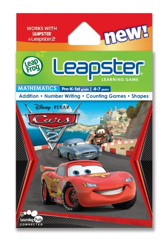Leapfrog Leapster Cars - LeapFrog Leapster Learning Game: Disney Pixar Cars 2