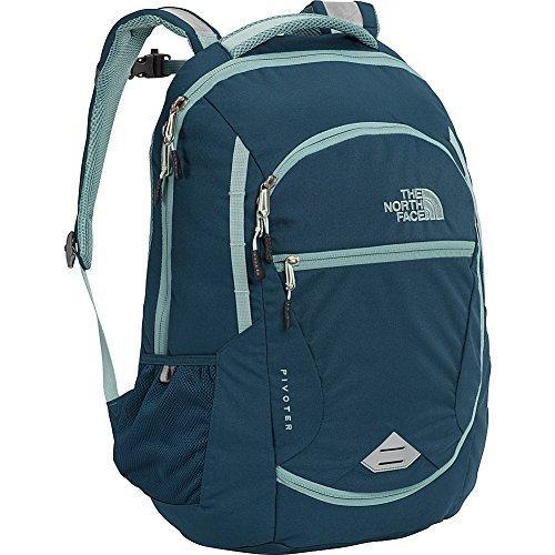 The North Face Women's Pivoter Laptop Backpack (Monterey Blue) [並行輸入品] B07F4HGDDD