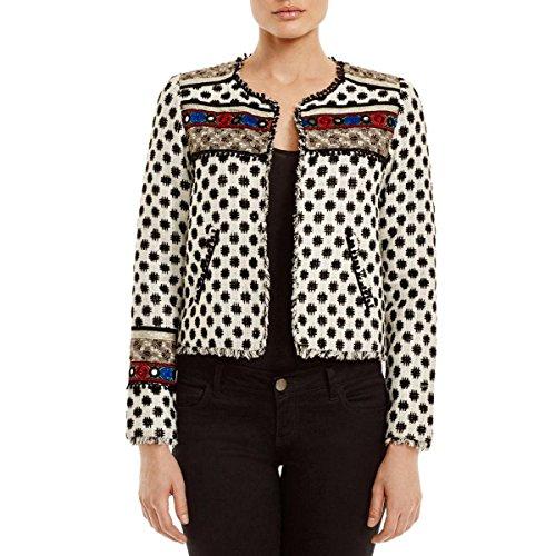 Embellished Silk Jacket - 8