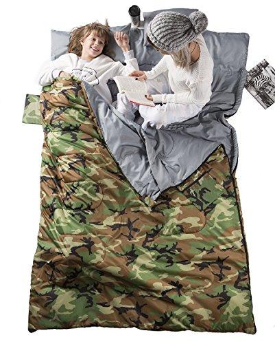 backpacking sleeping bag for big guys