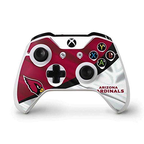 Skinit NFL Arizona Cardinals Xbox One S Controller Skin - Arizona Cardinals Design - Ultra Thin, Lightweight Vinyl Decal Protection by Skinit
