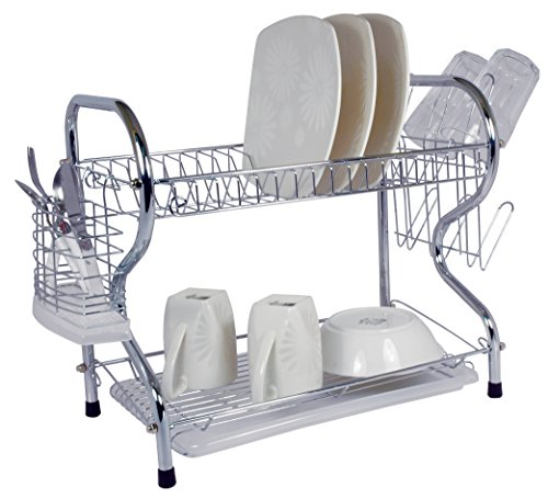 "Better Chef 22"" Chrome Dish Rack Chrome 91595025M"
