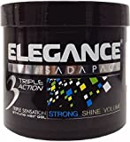 Elegance Triple Action Styling Hair Gel - Silver 1000ml