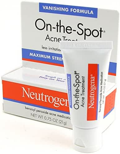 Neutrogena On-the-spot Acne Treatment, 0.75 Oz / 21 G (Pack of 2) (PACK OF 2)
