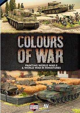 Colours of War: Flames of War and Team Yankee Paint Guide (FW918)