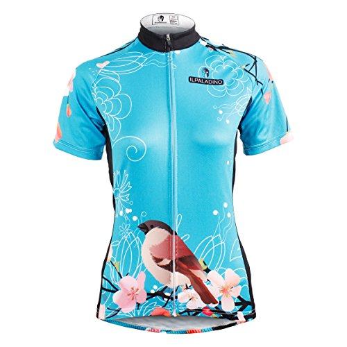 毎月コア飽和する[paladin] サイクルジャージ カジュアル 吸汗速乾 通気がいい レディース 夏用 スポーツ サイクルウェア