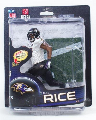 - McFarlane NFL 32 Figure Ray Rice Bronze Level Variant White Jersey
