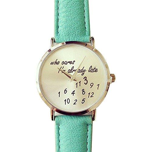 U beauty already Leather Watches Wristwatch