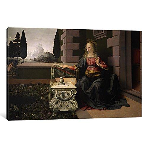The Annunciation Leonardo Da Vinci - 3