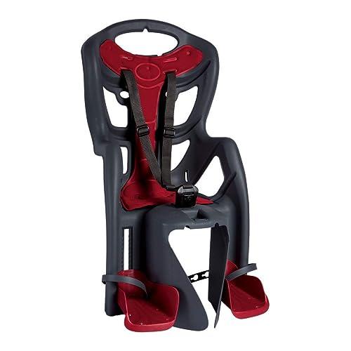 Bellelli Children Bike Carrier Seat - Clamp Rear Seat Fit - Grey