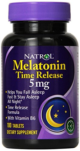 Melatonin 5mg Time Release – 100 – Tablet