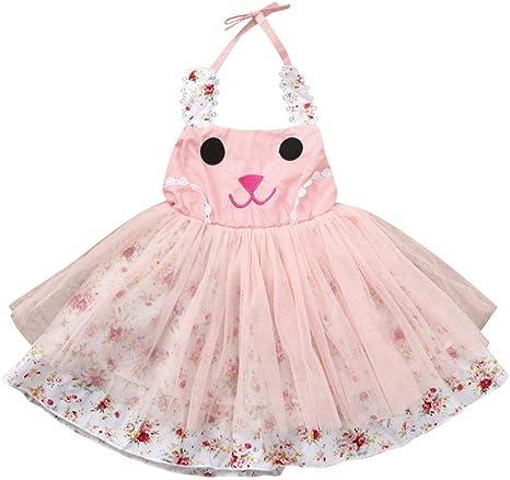 Vestidos para niñas de 1 a 4 años de edad, falda de burbujas de ...
