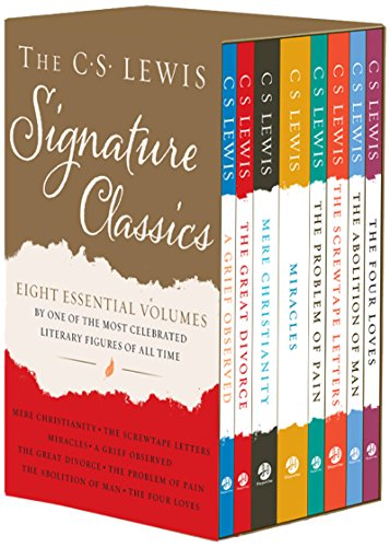 The C. S. Lewis Signature Classics (8-Volume Box Set): An Anthology of 8 C. S. Lewis Titles: Mere Christianity, The Screwtape Letters, Miracles, The ... The Abolition of Man, and The Four Loves [C. S. Lewis] (Tapa Blanda)